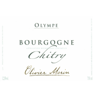 Étiquette de Olivier Morin - Chitry - Olympe