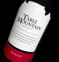 Étiquette de Table Mountain - Merlot